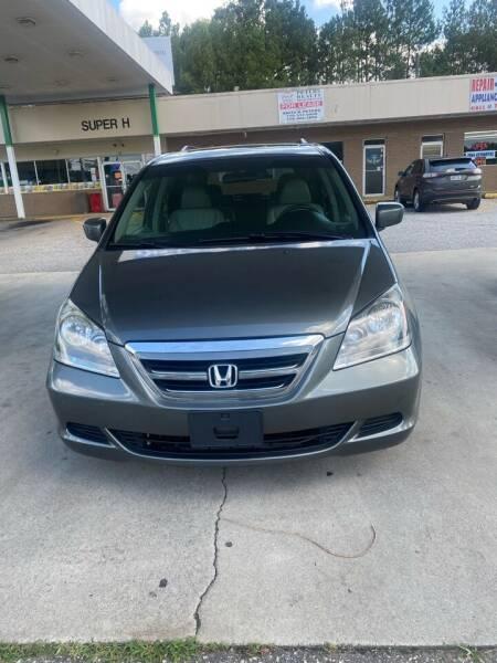 2007 Honda Odyssey for sale at Dalia Motors LLC in Winder GA