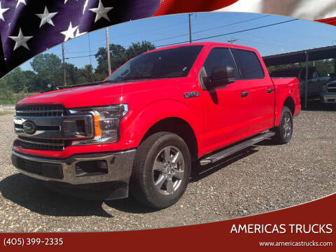 2019 Ford F-150 for sale at Americas Trucks in Jones OK