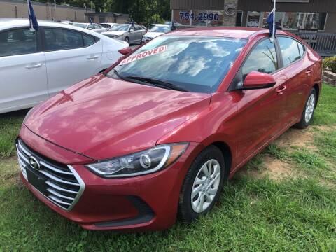 2017 Hyundai Elantra for sale at Car Guys in Lenoir NC