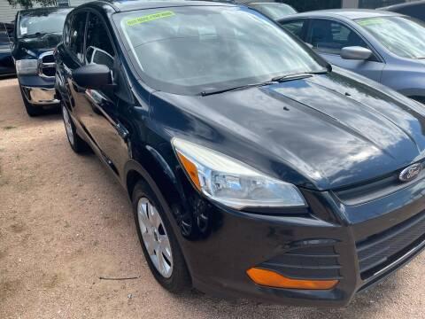2014 Ford Escape for sale at S & J Auto Group in San Antonio TX