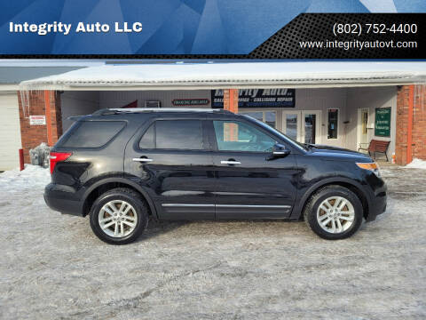 2014 Ford Explorer for sale at Integrity Auto LLC - Integrity Auto 2.0 in St. Albans VT