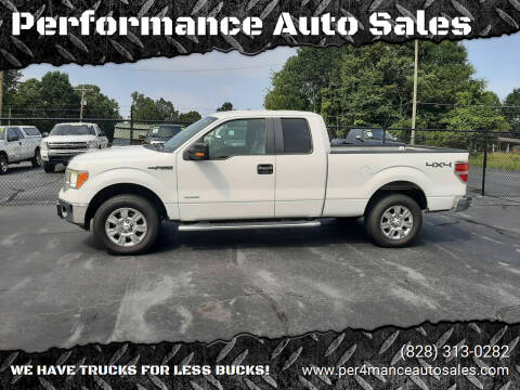 2012 Ford F-150 for sale at Performance Auto Sales in Hickory NC