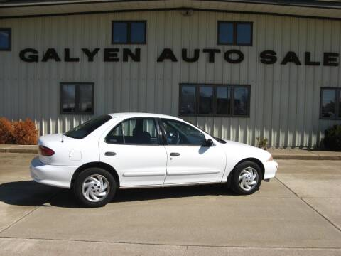 1999 Chevrolet Cavalier for sale at Galyen Auto Sales Inc. in Atkinson NE