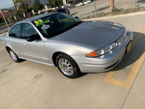 2003 Oldsmobile Alero for sale at Select Auto Wholesales in Glendora CA