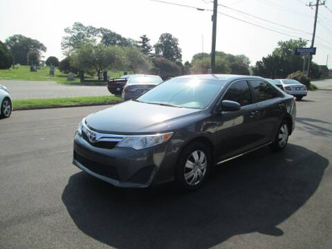2012 Toyota Camry for sale at Downtown Motors in Macon GA