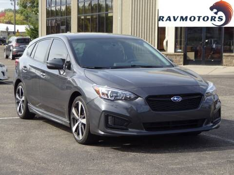 2018 Subaru Impreza for sale at RAVMOTORS 2 in Crystal MN