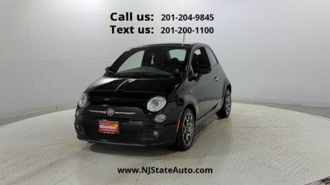 2015 FIAT 500 for sale at NJ State Auto Used Cars in Jersey City NJ