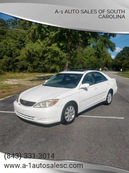 2002 Toyota Camry for sale at A-1 Auto Sales Of South Carolina in Conway SC