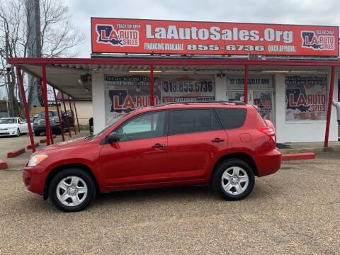 2012 Toyota RAV4 for sale at LA Auto Sales in Monroe LA