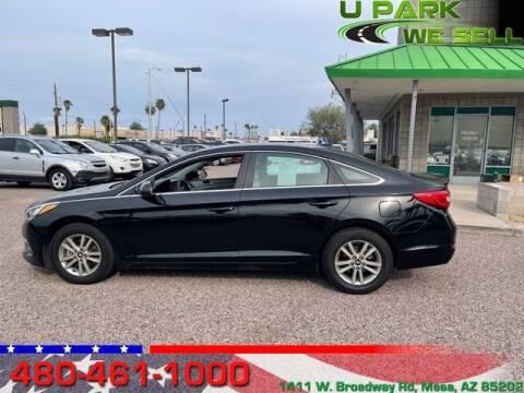 2015 Hyundai Sonata for sale at UPARK WE SELL AZ in Mesa AZ