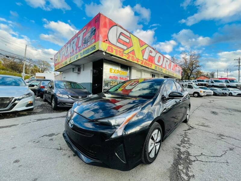 2016 Toyota Prius for sale at EXPORT AUTO SALES, INC. in Nashville TN