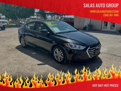 2017 Hyundai Elantra for sale at Salas Auto Group in Indio CA