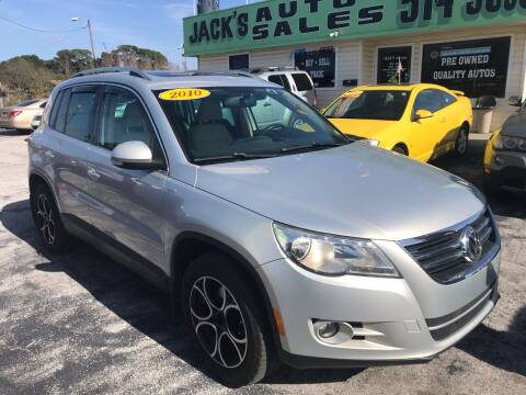 2010 Volkswagen Tiguan for sale at Jack's Auto Sales in Port Richey FL