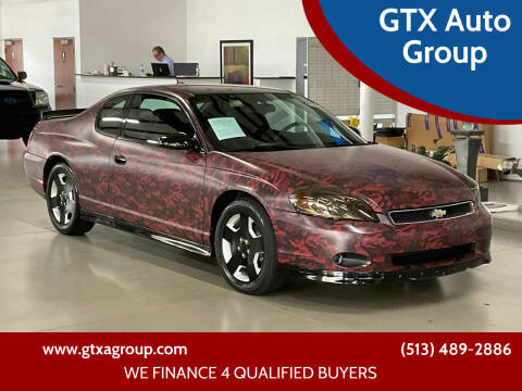 2007 Chevrolet Monte Carlo for sale at GTX Auto Group in West Chester OH