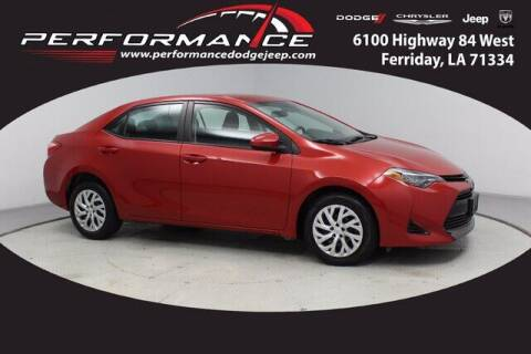 2019 Toyota Corolla for sale at Auto Group South - Performance Dodge Chrysler Jeep in Ferriday LA