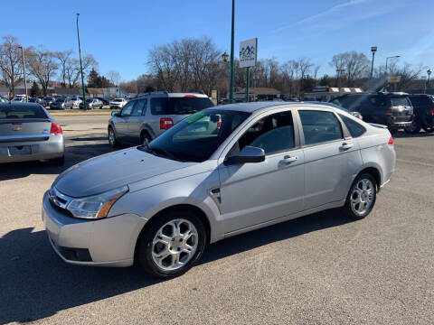 2008 Ford Focus for sale at Peak Motors in Loves Park IL