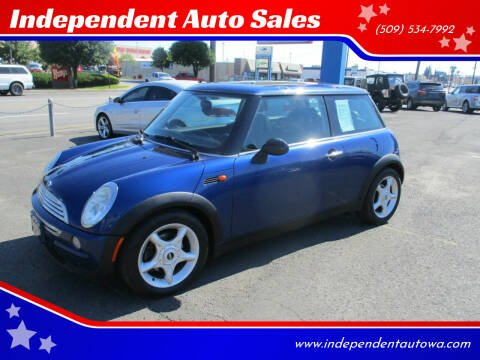 2002 MINI Cooper for sale at Independent Auto Sales in Spokane Valley WA