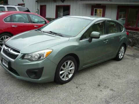 2014 Subaru Impreza for sale at Shaw's Sales & Service in Wallingford VT