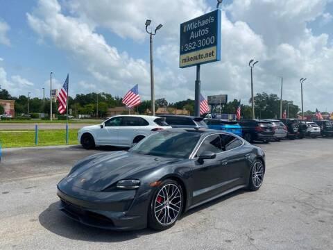 2020 Porsche Taycan for sale at Michaels Autos in Orlando FL