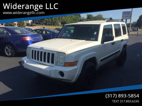 2006 Jeep Commander for sale at Widerange LLC in Greenwood IN