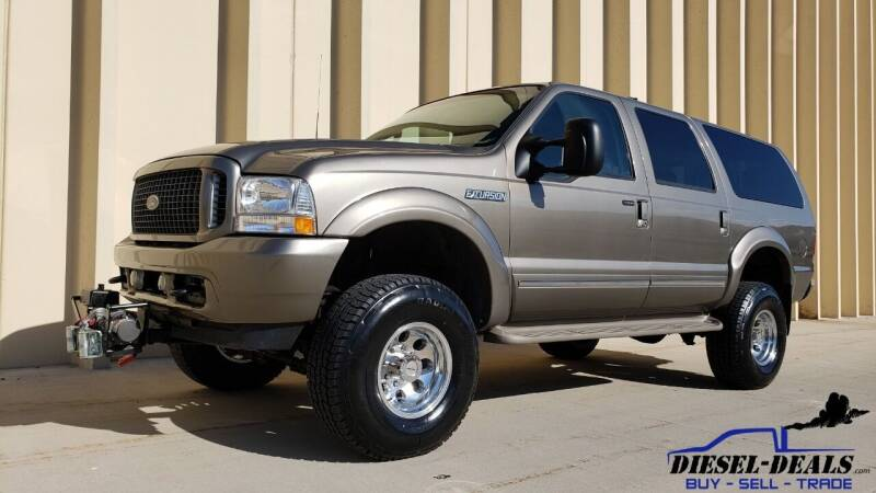 2003 Ford Excursion for sale at DIESEL DEALS in Salt Lake City UT