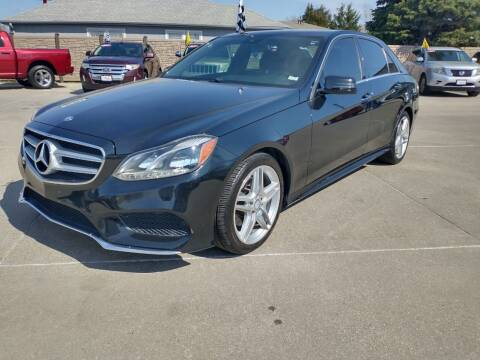 2014 Mercedes-Benz E-Class for sale at Triangle Auto Sales 2 in Omaha NE