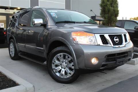 2015 Nissan Armada for sale at UNITED AUTO in Millcreek UT