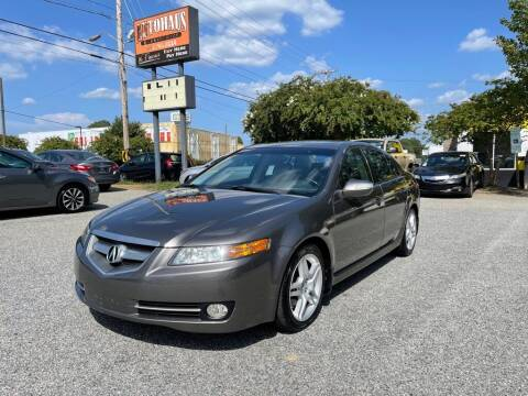 2007 Acura TL for sale at Autohaus of Greensboro in Greensboro NC