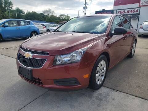 2012 Chevrolet Cruze for sale at Quallys Auto Sales in Olathe KS