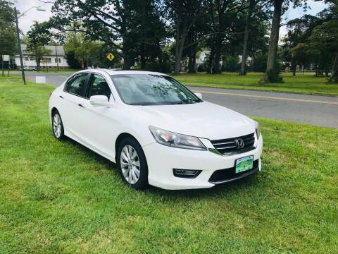 2013 Honda Accord for sale at M & C AUTO SALES in Roselle NJ