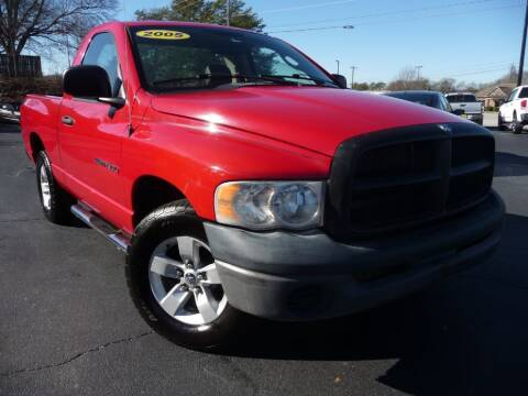 2005 Dodge Ram Pickup 1500 for sale at Wade Hampton Auto Mart in Greer SC