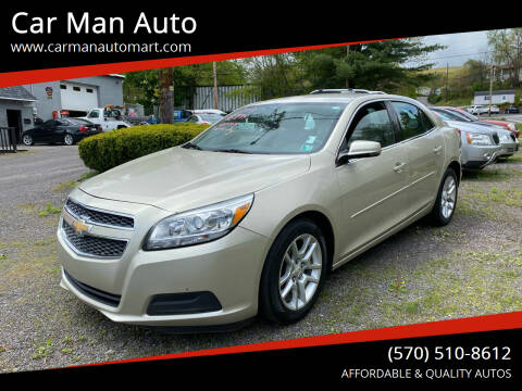 2013 Chevrolet Malibu for sale at Car Man Auto in Old Forge PA