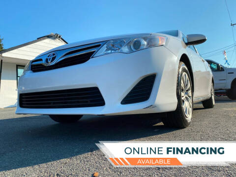 2014 Toyota Camry for sale at Prime One Inc in Walkertown NC
