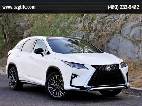 2018 Lexus RX 450h for sale at AZGT LLC in Phoenix AZ
