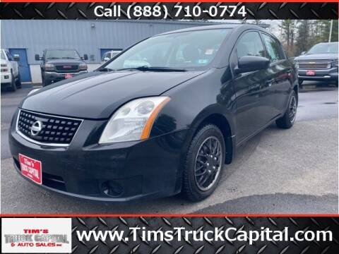 2008 Nissan Sentra for sale at TTC AUTO OUTLET/TIM'S TRUCK CAPITAL & AUTO SALES INC ANNEX in Epsom NH