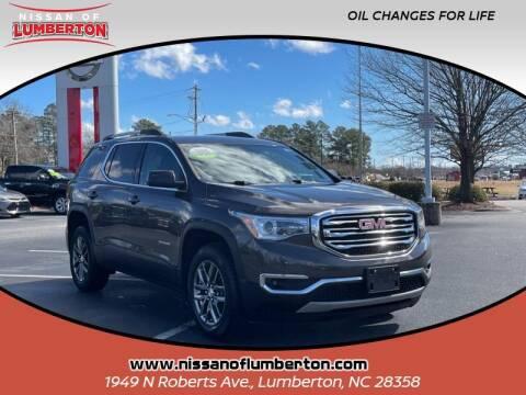 2019 GMC Acadia for sale at Nissan of Lumberton in Lumberton NC