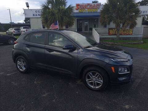 2021 Hyundai Kona for sale at Sun Coast City Auto Sales in Mobile AL