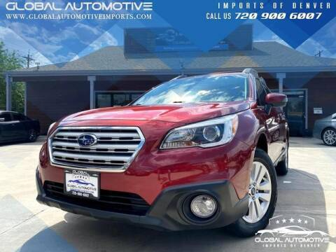 2017 Subaru Outback for sale at Global Automotive Imports of Denver in Denver CO