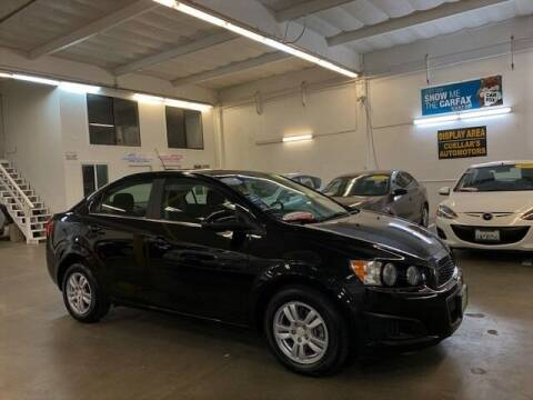 2016 Chevrolet Sonic for sale at Cuellars Automotive in Sacramento CA
