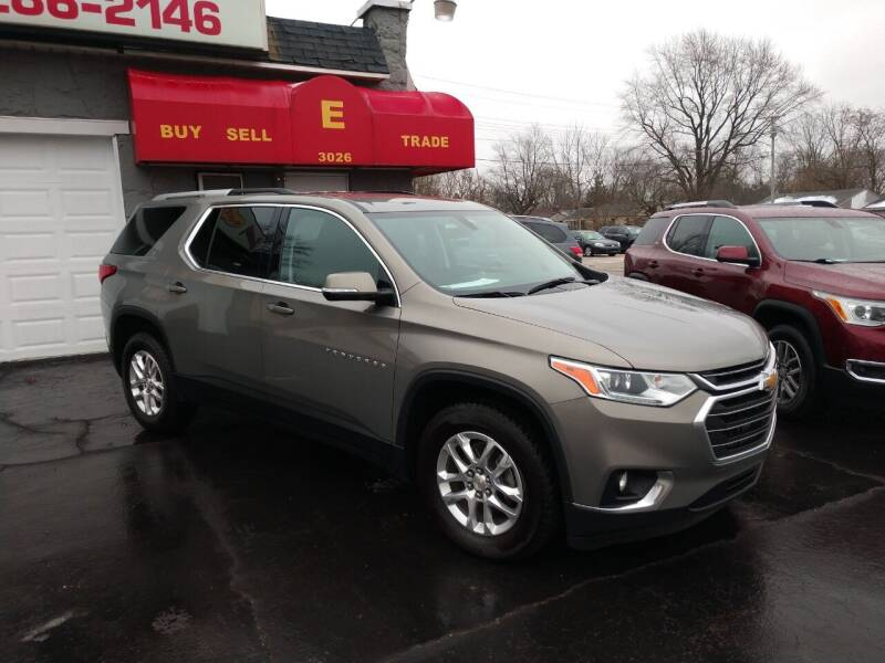 2018 Chevrolet Traverse for sale at Economy Motors in Muncie IN