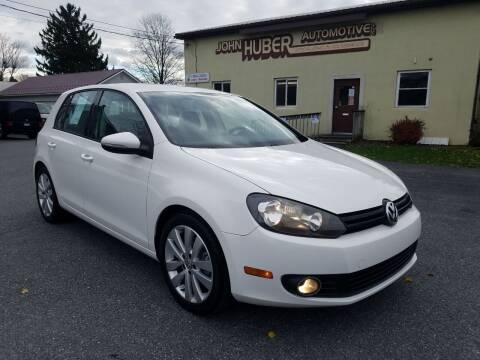 2012 Volkswagen Golf for sale at John Huber Automotive LLC in New Holland PA