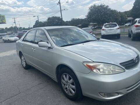 2004 Toyota Camry for sale at RD Motors, Inc in Charlotte NC
