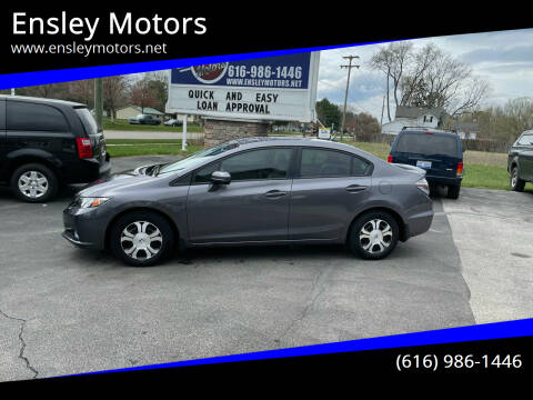 2015 Honda Civic for sale at Ensley Motors in Allendale MI
