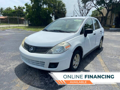 2009 Nissan Versa for sale at Alma Car Sales in Miami FL