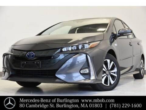 2018 Toyota Prius Prime for sale at Mercedes Benz of Burlington in Burlington MA