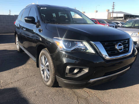 2018 Nissan Pathfinder for sale at Town and Country Motors in Mesa AZ