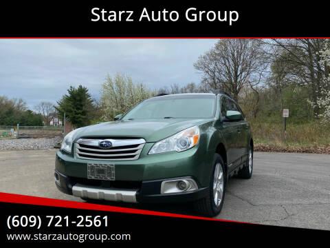 2011 Subaru Outback for sale at Starz Auto Group in Delran NJ