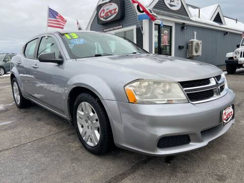 2013 Dodge Avenger for sale at Cape Cod Carz in Hyannis MA