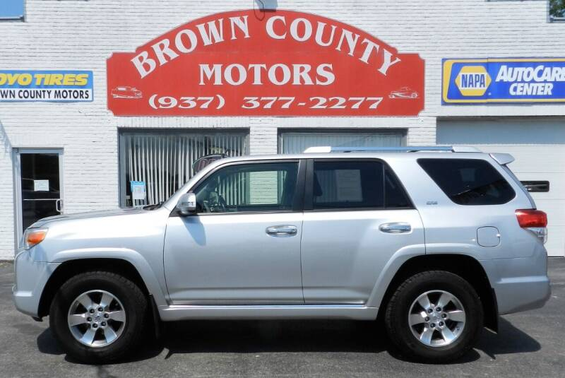2012 Toyota 4Runner for sale at Brown County Motors in Russellville OH