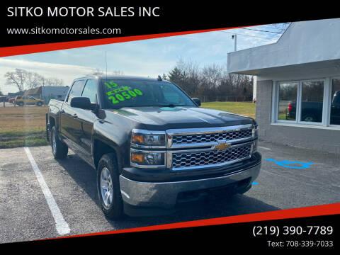 2015 Chevrolet Silverado 1500 for sale at SITKO MOTOR SALES INC in Cedar Lake IN